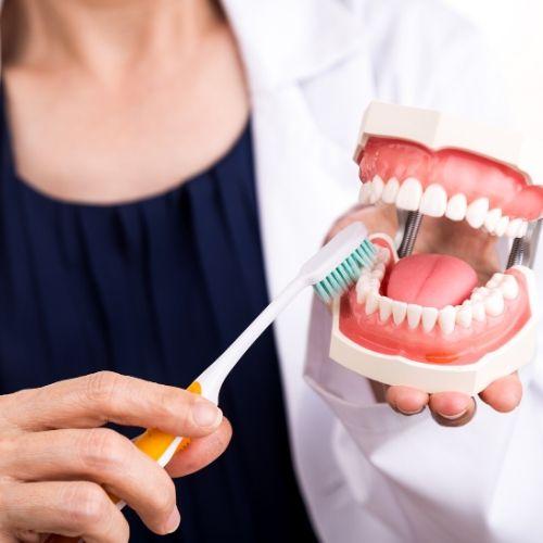 técnicas de limpieza de ortodoncia
