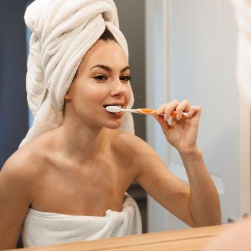 higiene oral para el mal aliento